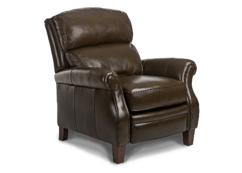 Nolan Leather Recliner by Randall Allan