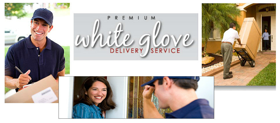 White glove delivery service