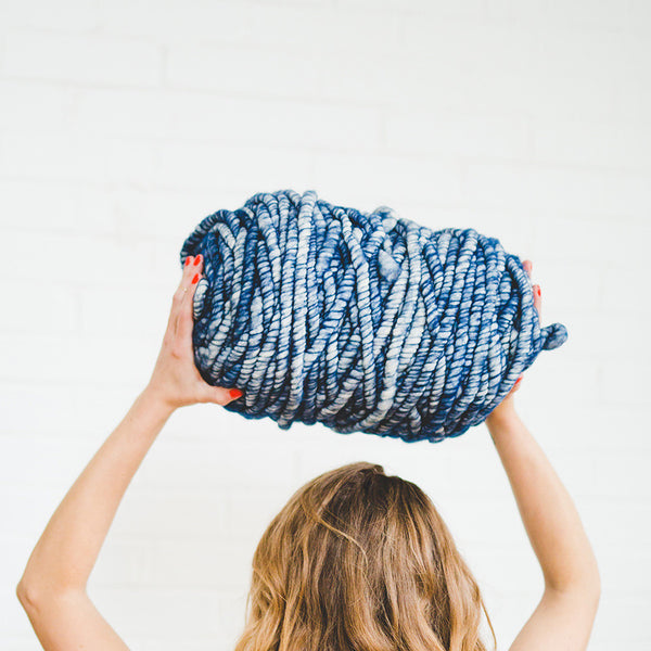 Big Loop Yarn - Indigo Blues
