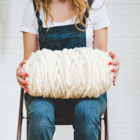 Big Loop Yarn - Ivory