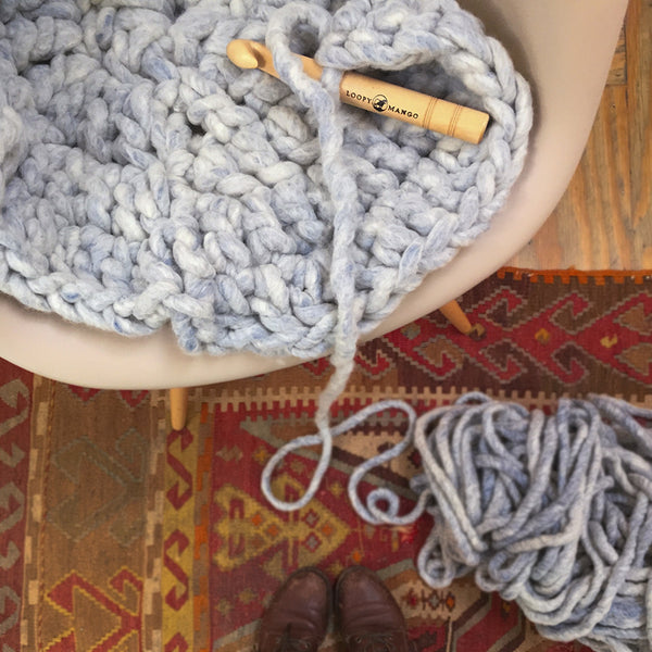 Aspen Rug Crochet DIY KIT