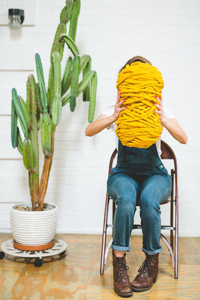 Big Loop Yarn - Sunflower