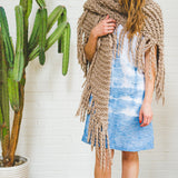 Her Fringe Shawl DIY KIT