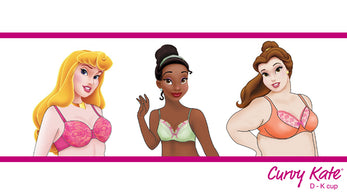 If Disney Princesses were Curvy Kate Girls....