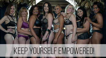 International Women's Day Empowered Lingerie