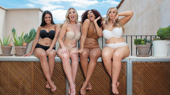 The Strapless Challenge - Watch our H cups put it to the test.