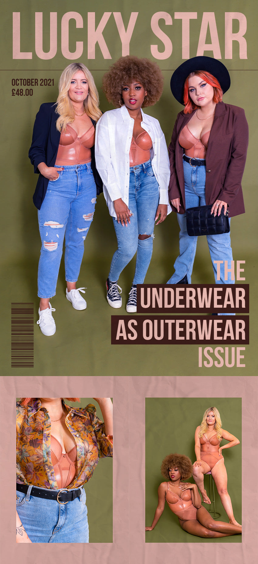 Lucky Star Tan - The Underwear as Outerwear issue