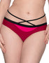 Curvy Kate Subtropic Mini Bikini Brief Cherry Red/Pink