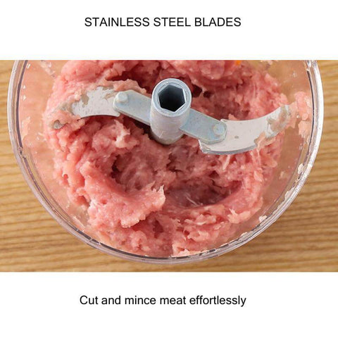 Food Chopper - cut and mince meat