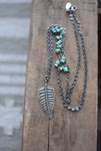 Load image into Gallery viewer, Fern + Campitos Turquoise Beaded Necklace