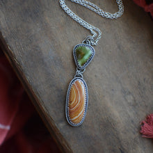 Load image into Gallery viewer, Royston + Banded Jasper Necklace
