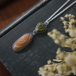 Royston + Banded Jasper Necklace