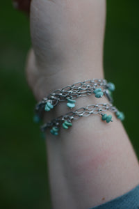 Sonoran Gold + Campitos Turquoise Bracelet - No. 1