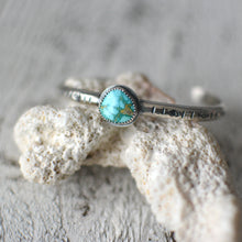 Load image into Gallery viewer, Sonoran Rose Turquoise Stacking Cuff Bracelet #1