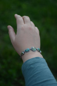Sonoran Gold + Sonoran Mountain Turquoise Bracelet - No. 3