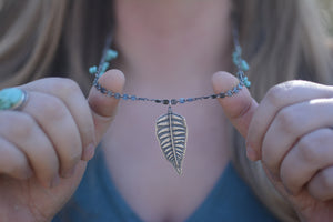 Fern + Campitos Turquoise Beaded Necklace