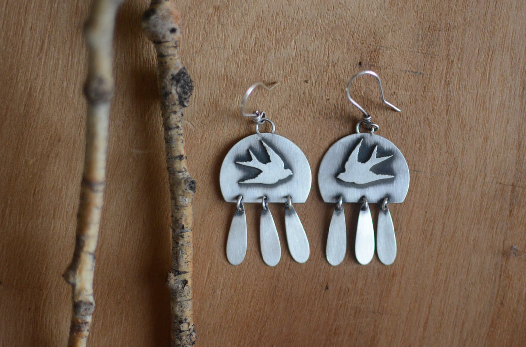 Sparrow + Fringe Earrings