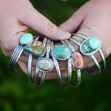Load image into Gallery viewer, Turquoise Double Cuff Bracelet
