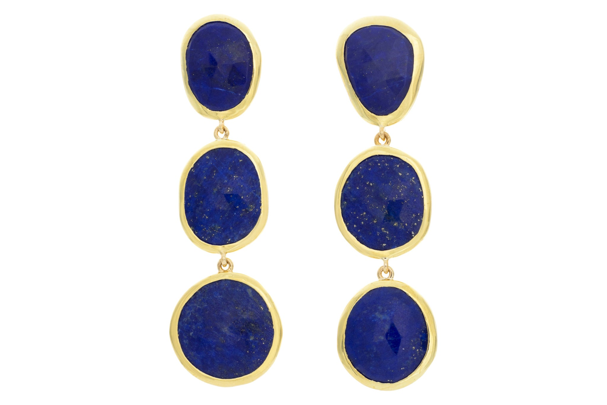 Lapis Drop Earring