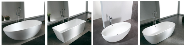 Baignoires solid surface