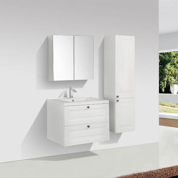 meuble simple vasque r tro le monde du bain. Black Bedroom Furniture Sets. Home Design Ideas