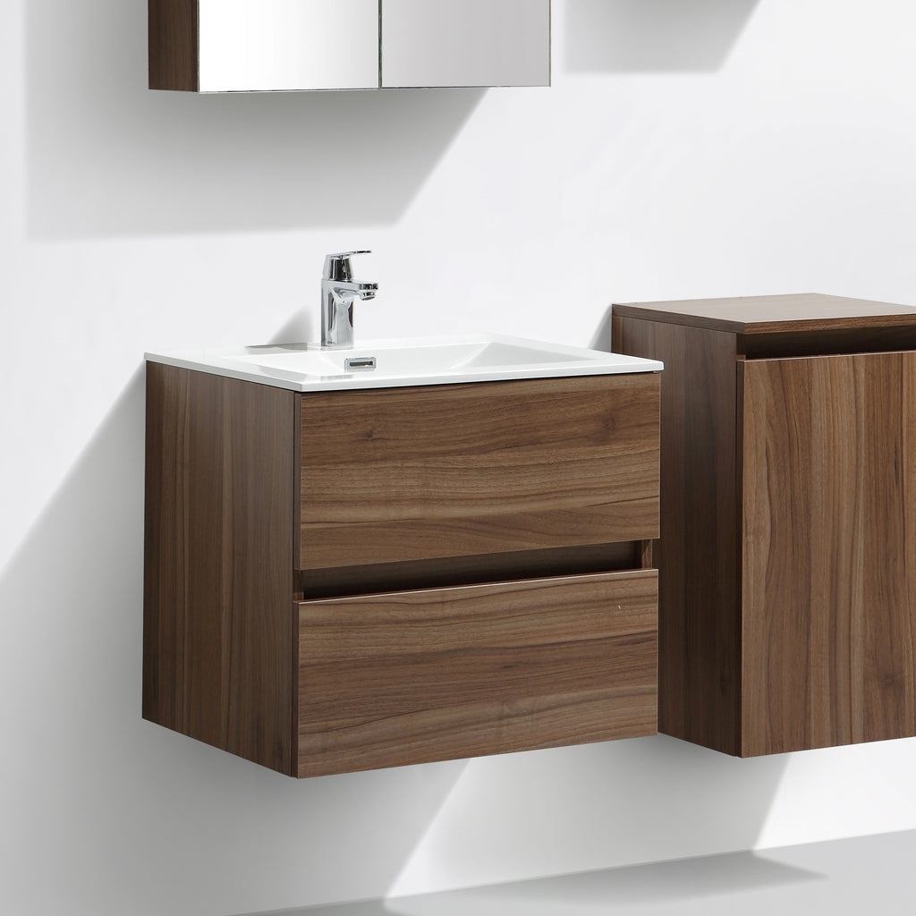 Le monde du bain meuble salle de bain design simple for Meuble 90 cm largeur