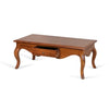 Table basse LEOPOLD en acajou