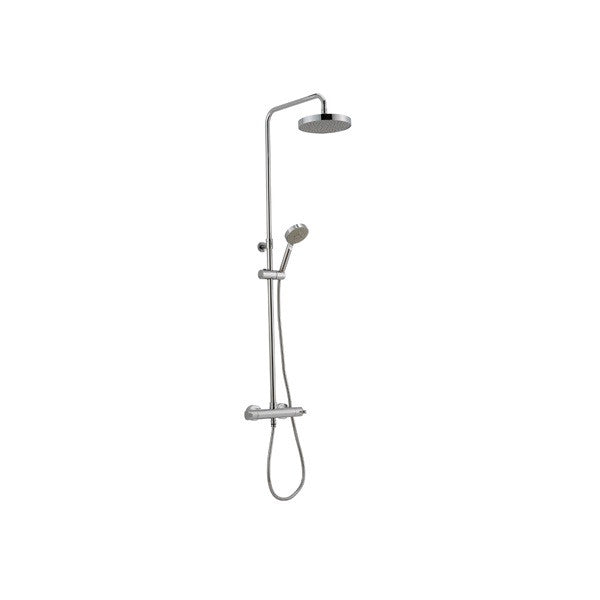 Ensemble robinet thermostatique douche mural CISAL SOFTCUBE - Le Monde du Bain