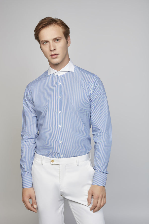 ORDINARY 01M | MEN'S BLUE/WHITE SHIRT
