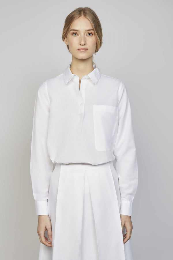 FRIDAY 02M/F | WOMEN'S WHITE POLO SHIRT