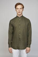 FRIDAY 03M | MEN'S GREEN TUNIC SHIRT