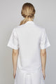 FRIDAY 04F | WOMEN'S SHORTSLEEVE WHITE KIMONO SHIRT