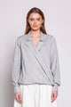 FRIDAY 09F | WOMEN'S GREY BLOUSE