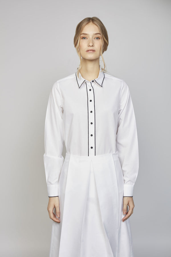 MONDAY 01F | WOMEN'S WHITE SHIRT