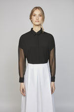 MONDAY 02F | WOMEN'S BLACK SHIRT