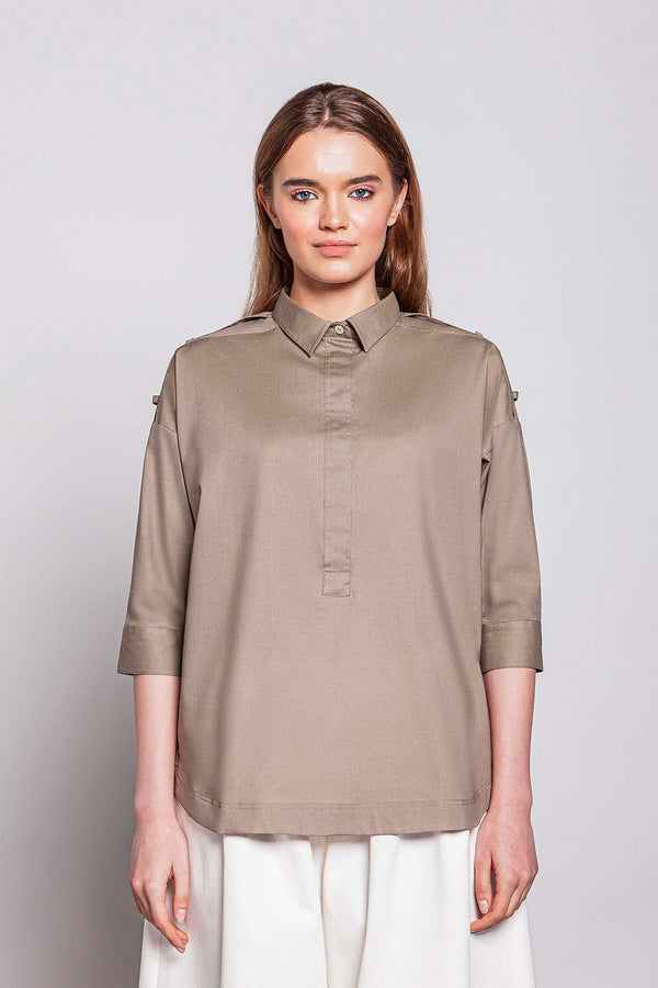 MONDAY 07F | WOMEN'S SHIRT WITH 3/4 SLEEVES