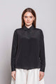 ORDINARY 01F | WOMEN'S BLACK BLOUSE