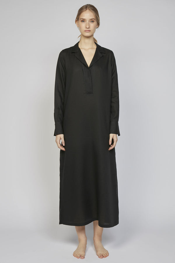 SUNDAY 02F | WOMEN'S BLACK TUNIC DRESS