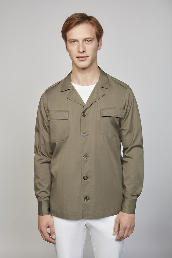 SUNDAY 02M | MEN'S KHAKI SHIRT