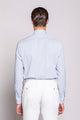 TUESDAY 02M | MEN'S STRIPED LIGHT BLUE SHIRT