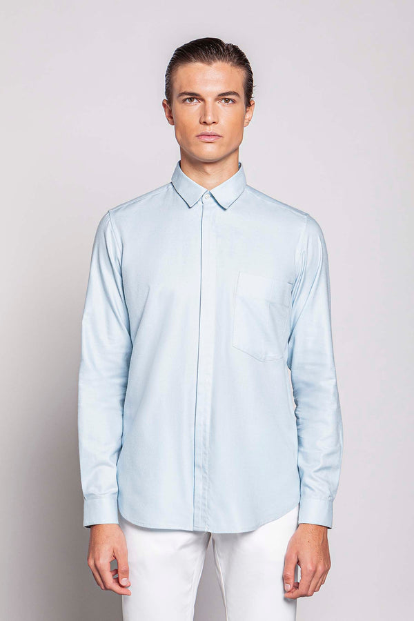 TUESDAY 03M | MEN'S LIGHT BLUE SHIRT
