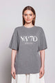 WEEKEND | WOMEN'S KNITTED GREY T-SHIRT
