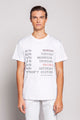 WEEK | MEN'S PRINTED WHITE T-SHIRT