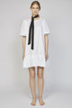 WEDNESDAY 04F | WOMEN'S WHITE BOHEMIAN DRESS