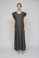 WEDNESDAY 06F | WOMEN'S BLACK DENIM MAXIDRESS