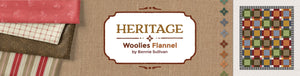 Heritage Woolies Flannel by Bonnie Sullivan