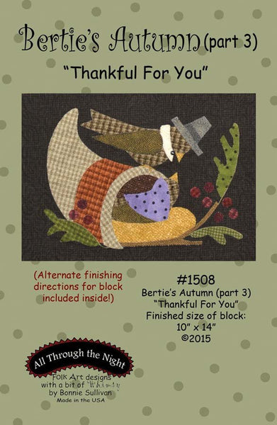"1508 - Bertie's Autumn ""Thankful For You"" (part 3)"