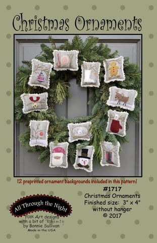 1717 - Christmas Ornaments
