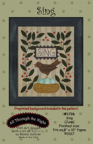 K1726 - Sing (June) Kit