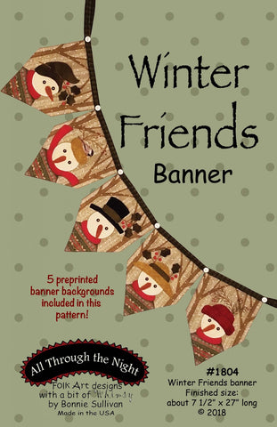 1804 - Winter Friends Banner